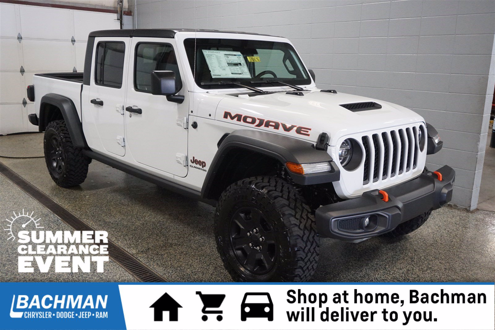 New 2020 JEEP Gladiator Mojave