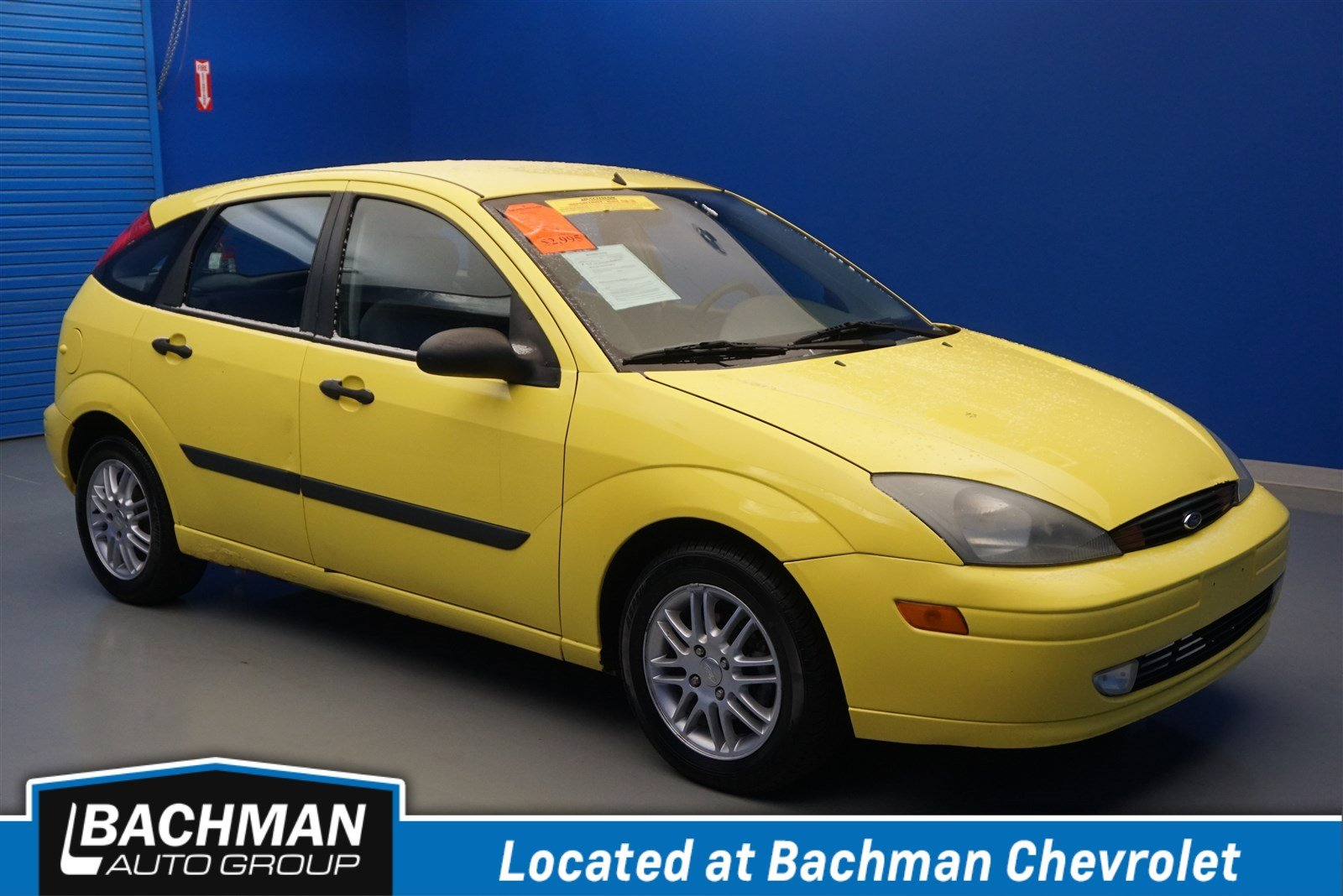 Pre-Owned 2003 Ford Focus ZX5 Base